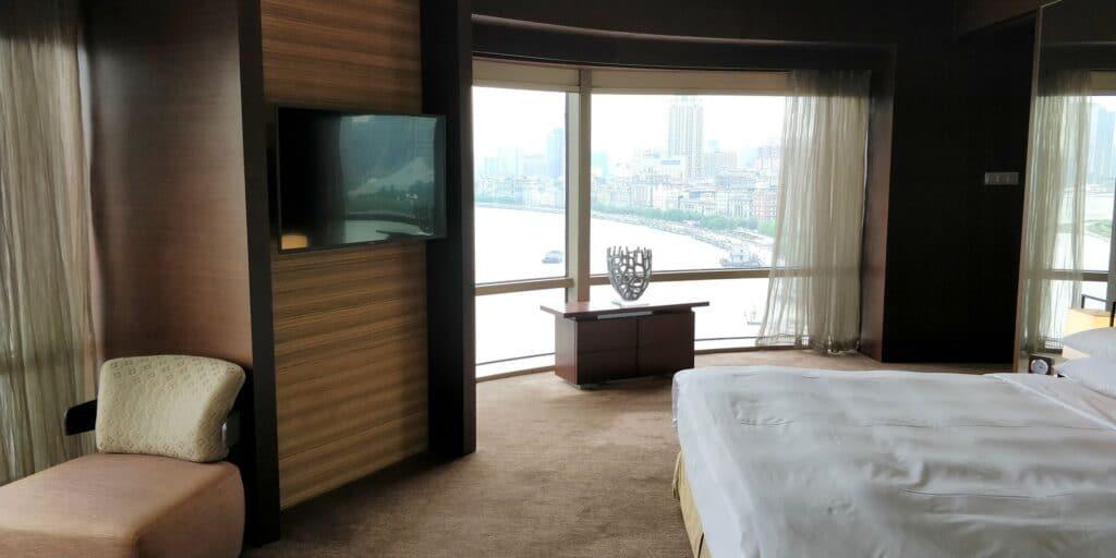 Hyatt On The Bund Shanghai Suite Schlafzimmer 4