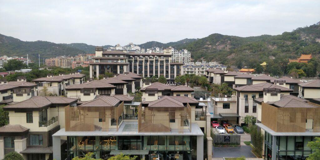 Joyze Hotel Xiamen Zimmer Ausblick