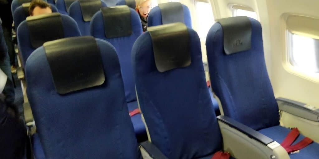 KLM Business Class Boeing 737 Sitz