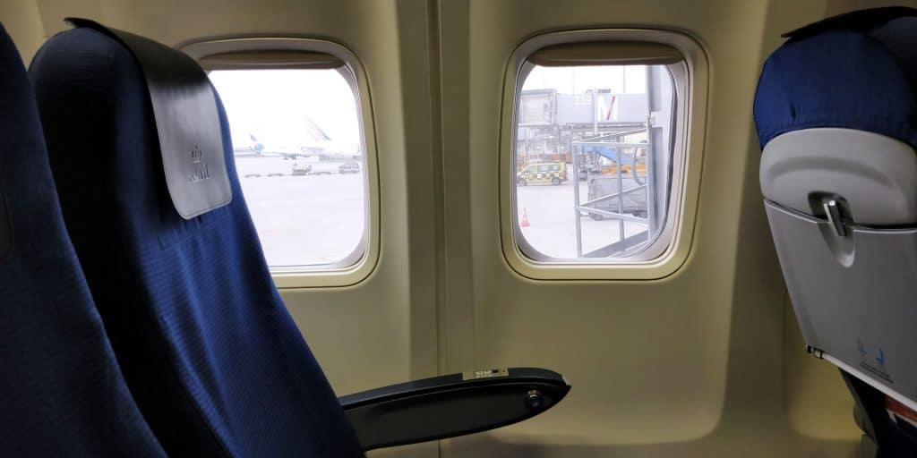 KLM Business Class Boeing 737 Sitz 2