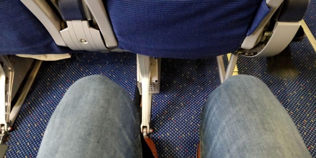 KLM Business Class Boeing 737 Sitzabstand
