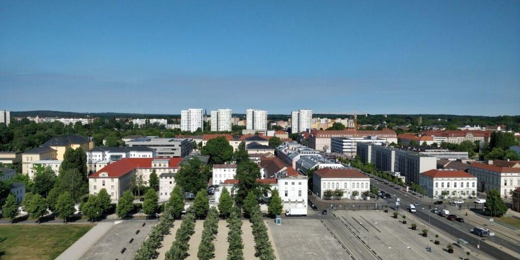 Mercure Potsdam Ausblick