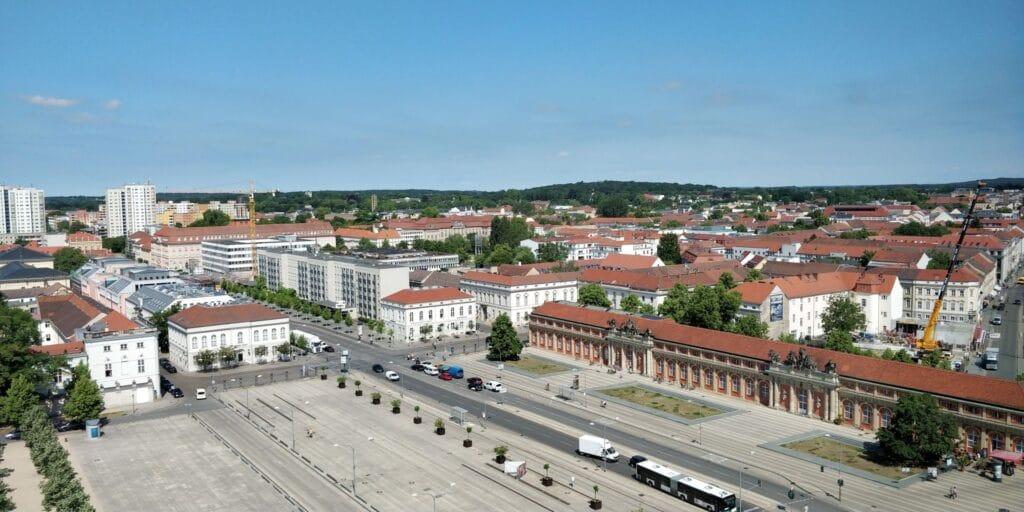Mercure Potsdam Ausblick 2
