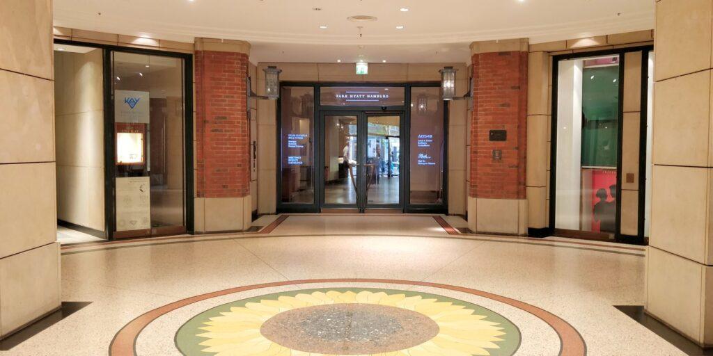 Park Hyatt Hamburg Lobby