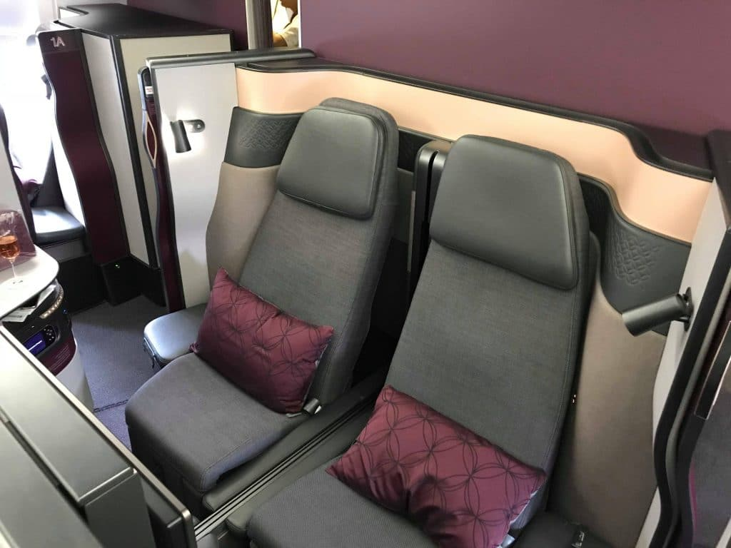 QSuite Qatar Airways