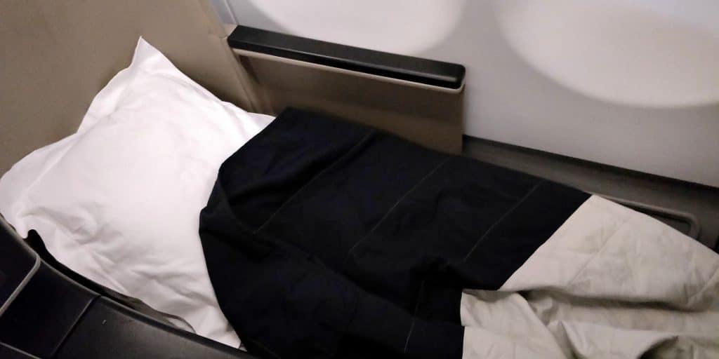 Qantas Business Class Airbus A330 Bett