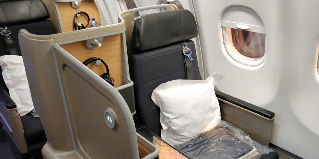 Qantas Business Class Airbus A330 Sitz