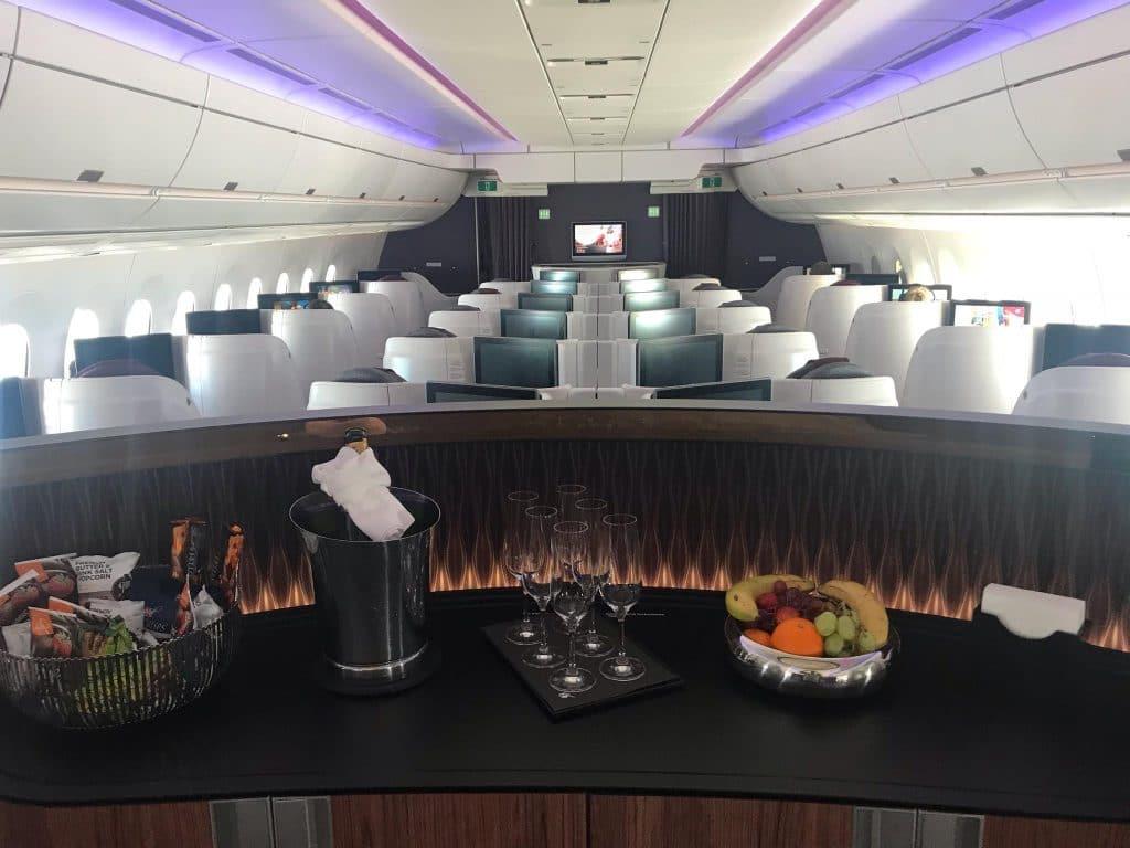 Qatar Airways Business Class Reverse Heringbone Lobby (2)