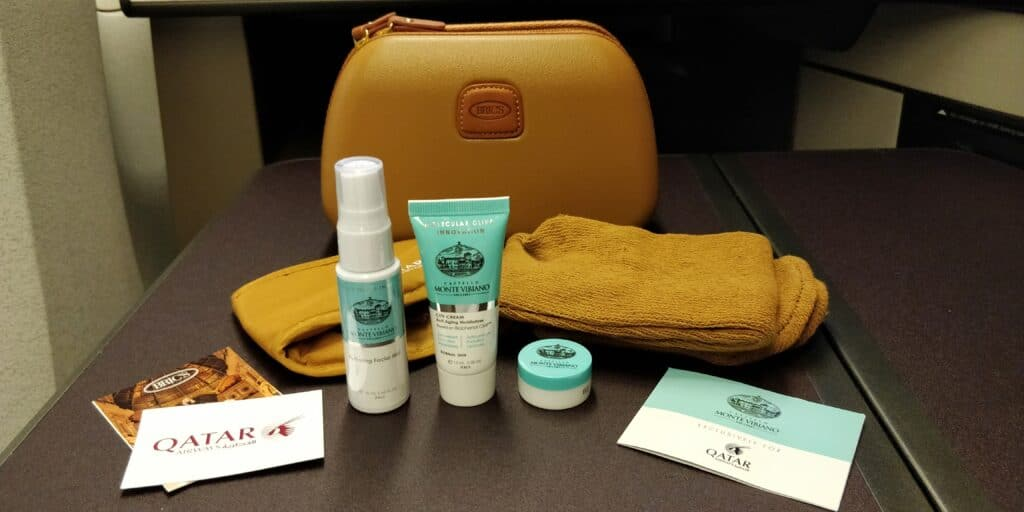 Qatar Airways QSuite Business Class Amenity Kit 2