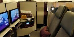 Qatar Airways QSuite Business Class Sitz 7