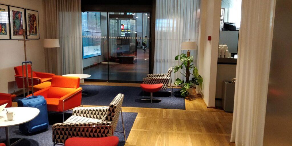 SAS Gold Lounge Kopenhagen Layout 1