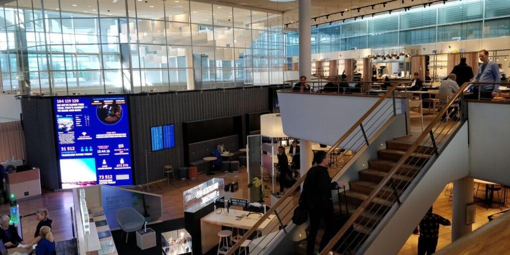 SAS Gold Lounge Kopenhagen Layout 10
