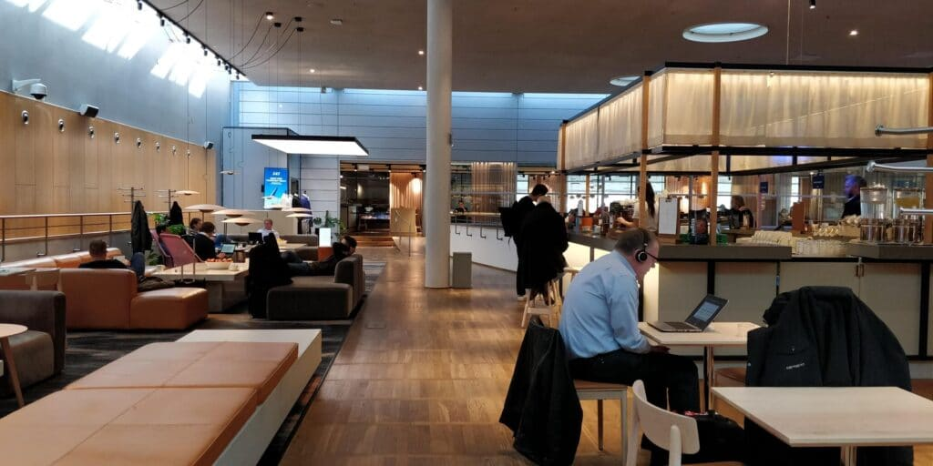 SAS Gold Lounge Kopenhagen Layout 6
