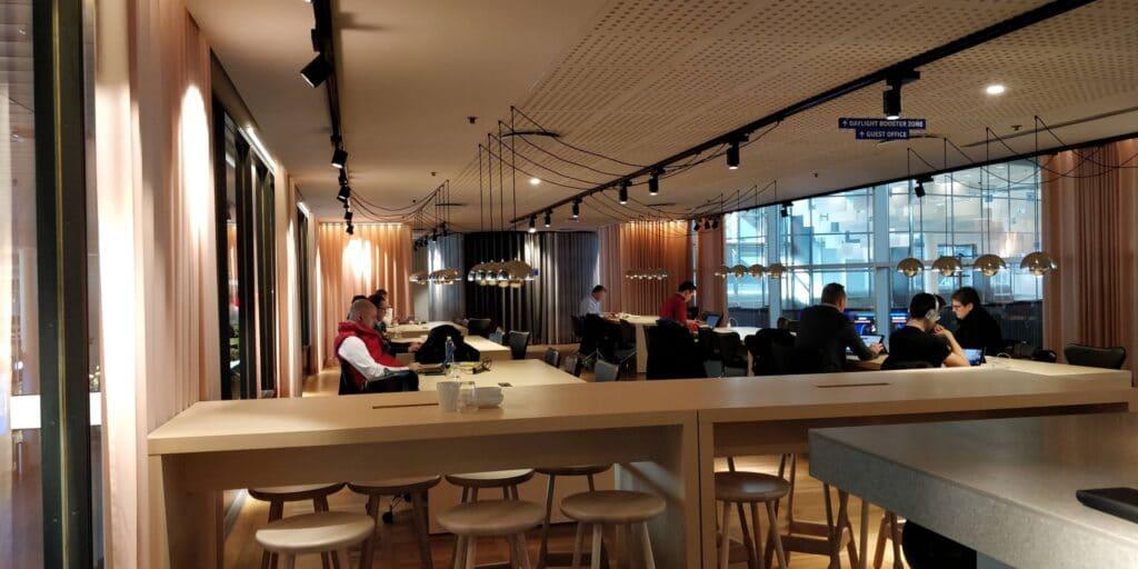 SAS Gold Lounge Kopenhagen Layout 9