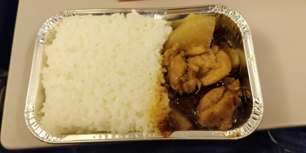 Shanghai Airlines Economy Class Kurzstrecke Essen 3