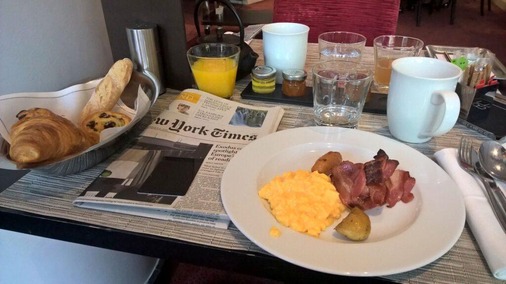 Sofitel Brüssel Europe Frühstück