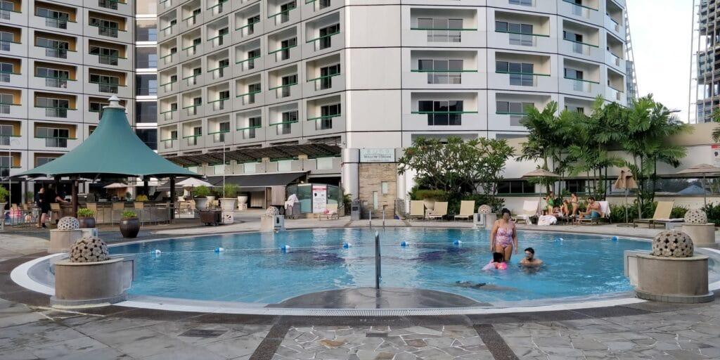 Swissotel The Stamford Singapur Pool