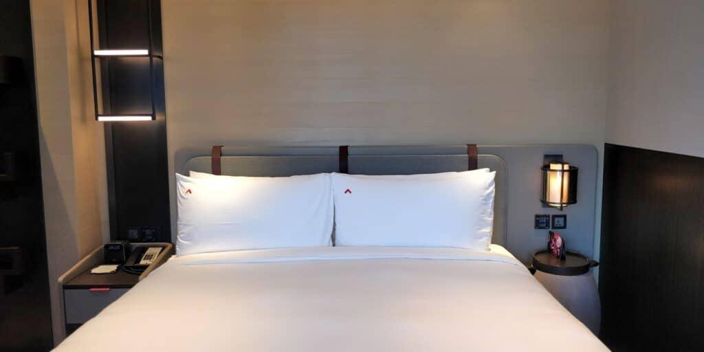 Swissotel The Stamford Singapur Zimmer 3