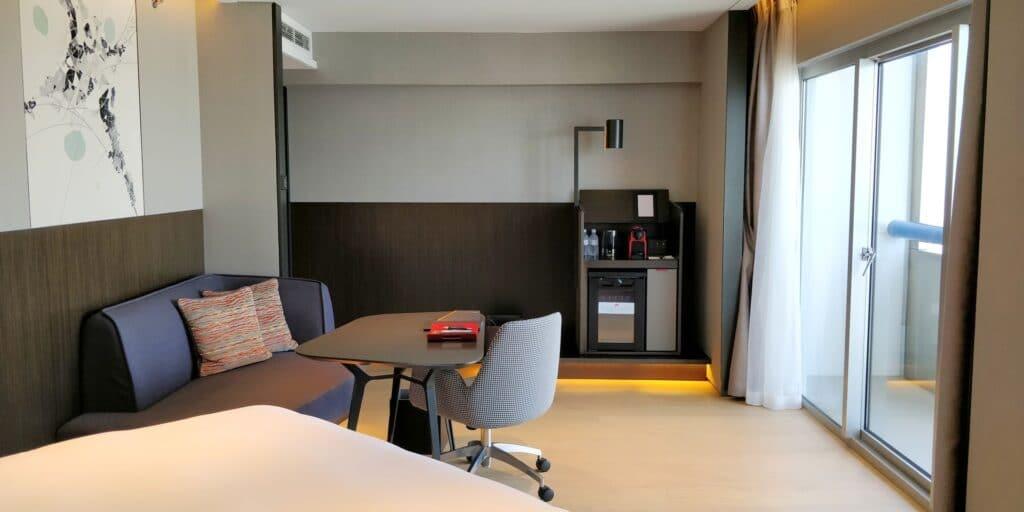 Swissotel The Stamford Singapur Zimmer 4