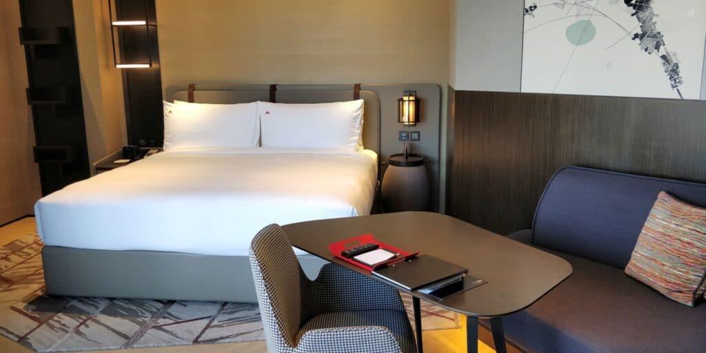 Swissotel The Stamford Singapur Zimmer 7