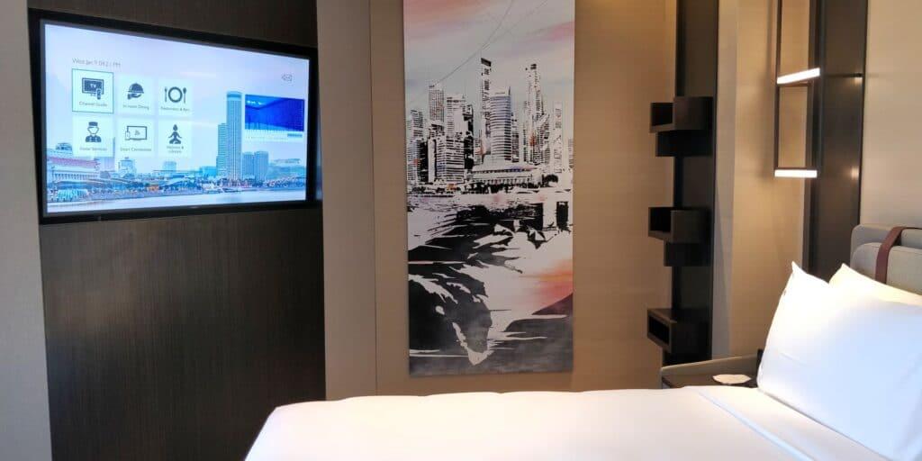 Swissotel The Stamford Singapur Zimmer 8