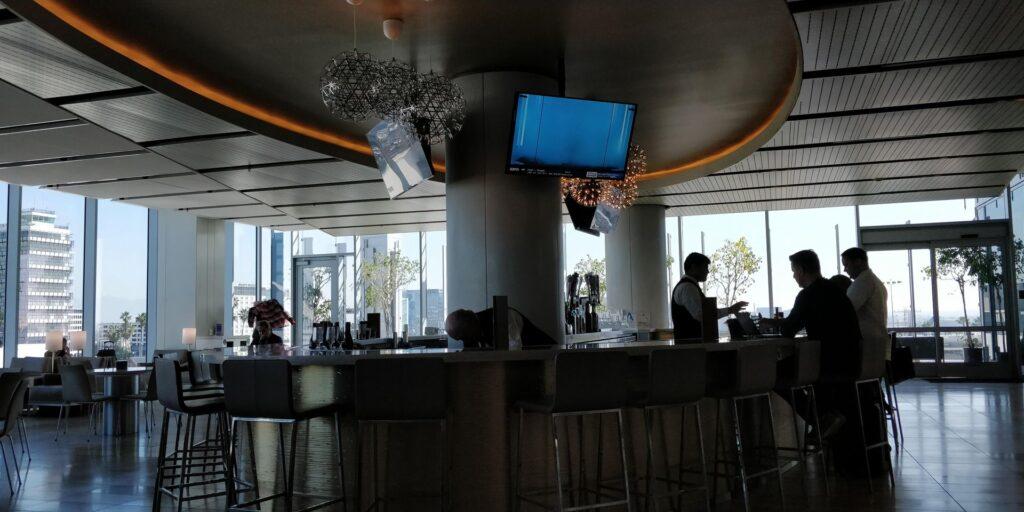 United Club Lounge Los Angeles Layout 3