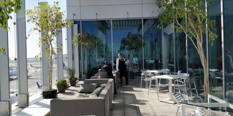 United Club Lounge Los Angeles Layout 5