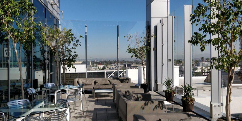 United Club Lounge Los Angeles Layout 6