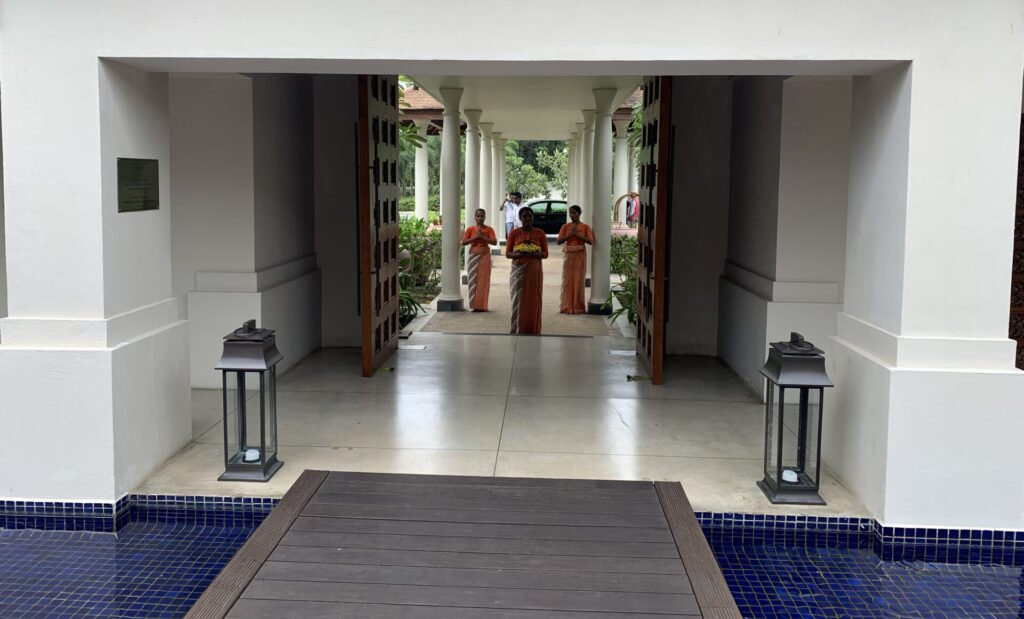 Anantara Peace Haven Tangalle Resort Abschied
