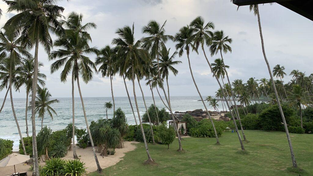 Anantara Peace Haven Tangalle Resort Ocean View Room Ausblick