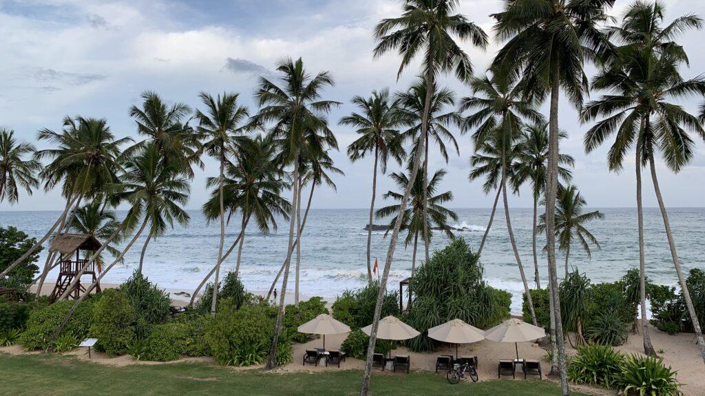 Anantara Peace Haven Tangalle Resort Ocean View Room Ausblick 2