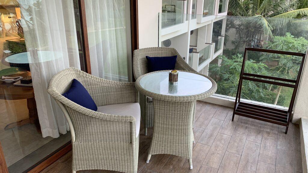 Anantara Peace Haven Tangalle Resort Ocean View Room Balkon