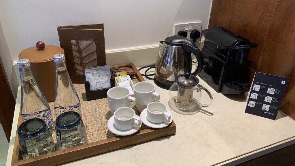 Anantara Peace Haven Tangalle Resort Ocean View Room Kaffee