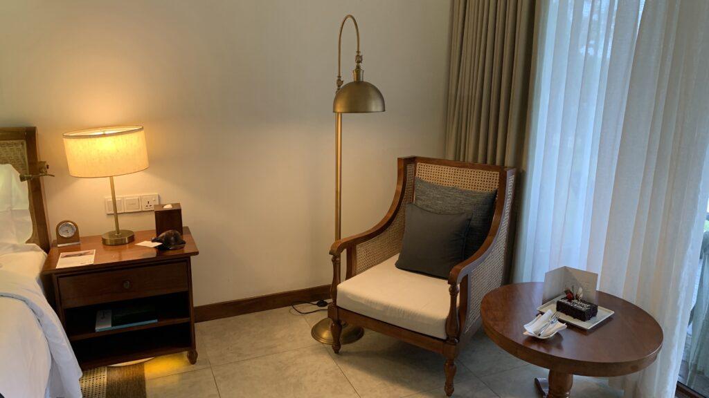Anantara Peace Haven Tangalle Resort Ocean View Room Zimmer Stuhl
