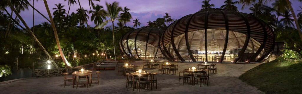 Restaurant im Ananatara Peace Haven Tangalle Resort