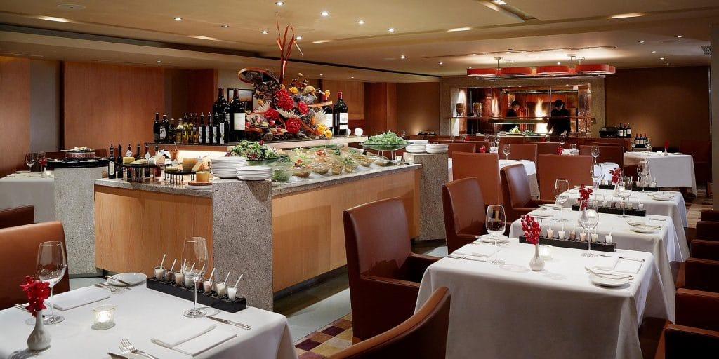 Intercontinental Hong Kong Dinner