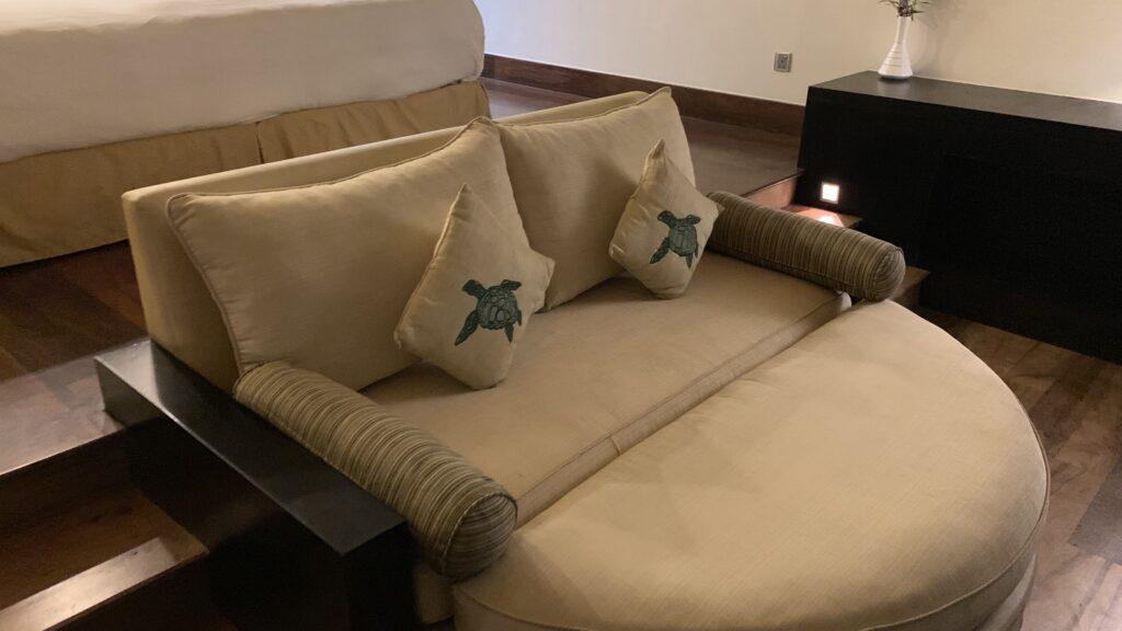 The Fortress Sri Lanka Apartment Schlafzimmer Sofa