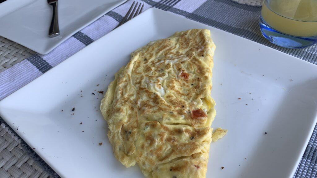 The Fortress Sri Lanka Frühstück Omelette