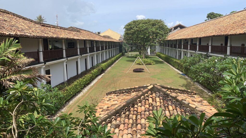 The Fortress Sri Lanka Gebäude