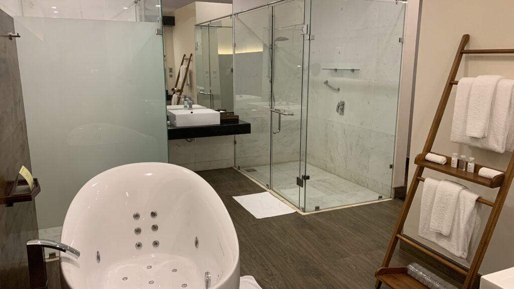 The Fortress Sri Lanka Ocean Room Badezimmer