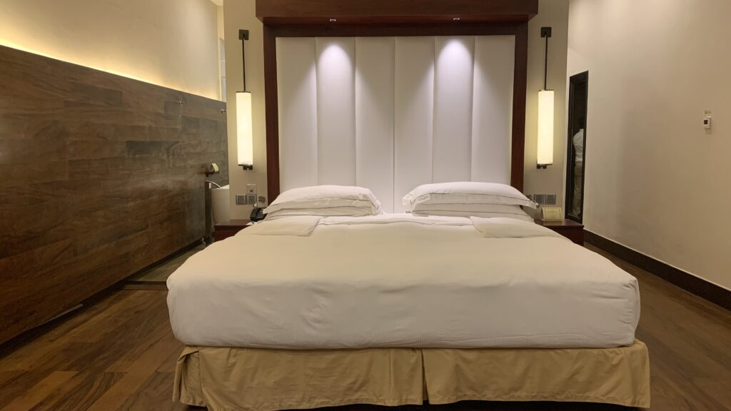 The Fortress Sri Lanka Ocean Room Bett