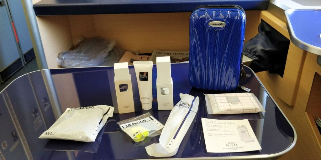 ANA First Class Amenity Kit 3