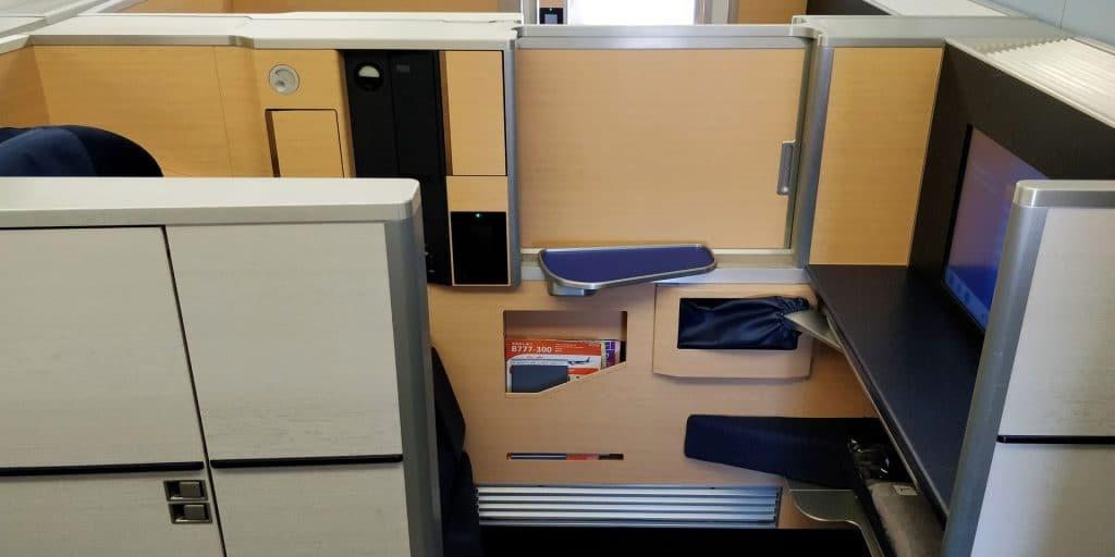 ANA First Class Sitz 12