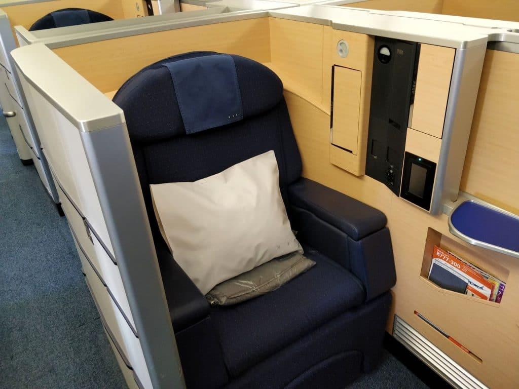 ANA First Class Sitz 2