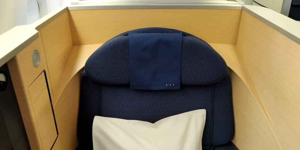 ANA First Class Sitz 3