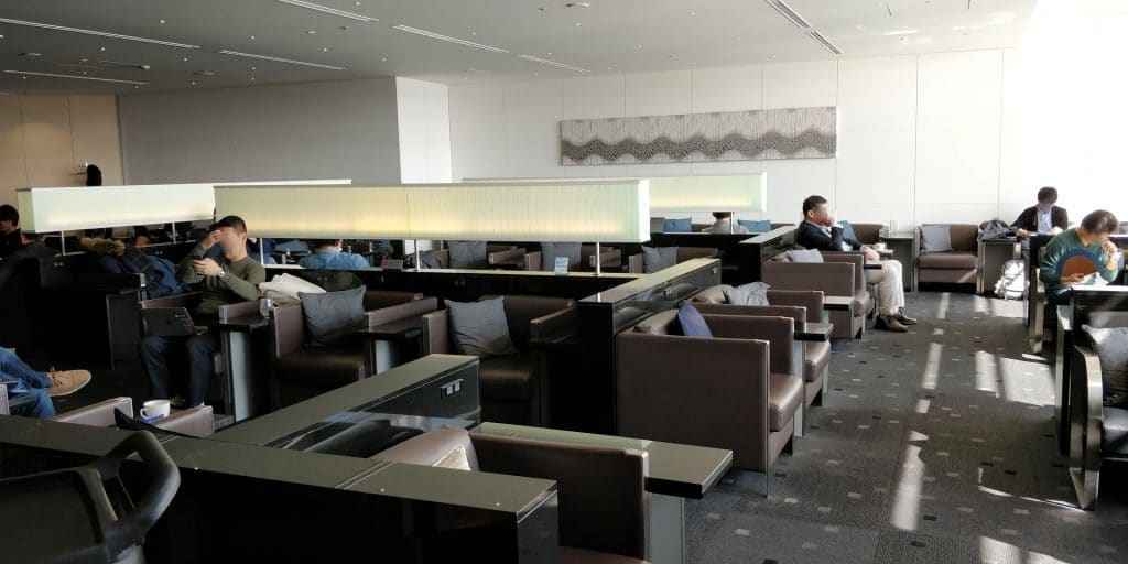 ANA Lounge Tokio Haneda 110 6