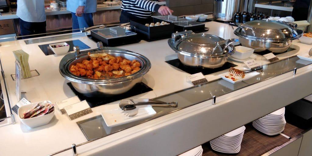 ANA Lounge Tokio Haneda 110 Buffet 5