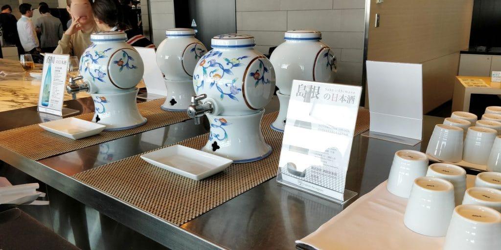 ANA Lounge Tokio Haneda 110 Buffet 6