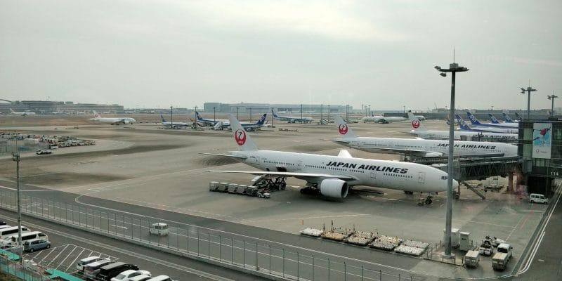 ANA Lounge Tokio Haneda 114 Ausblick