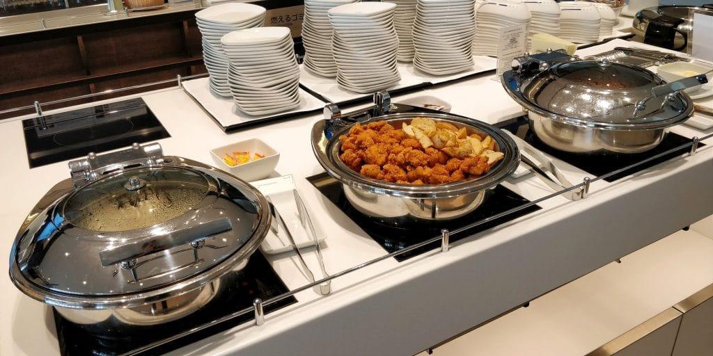 ANA Lounge Tokio Haneda 114 Buffet 2
